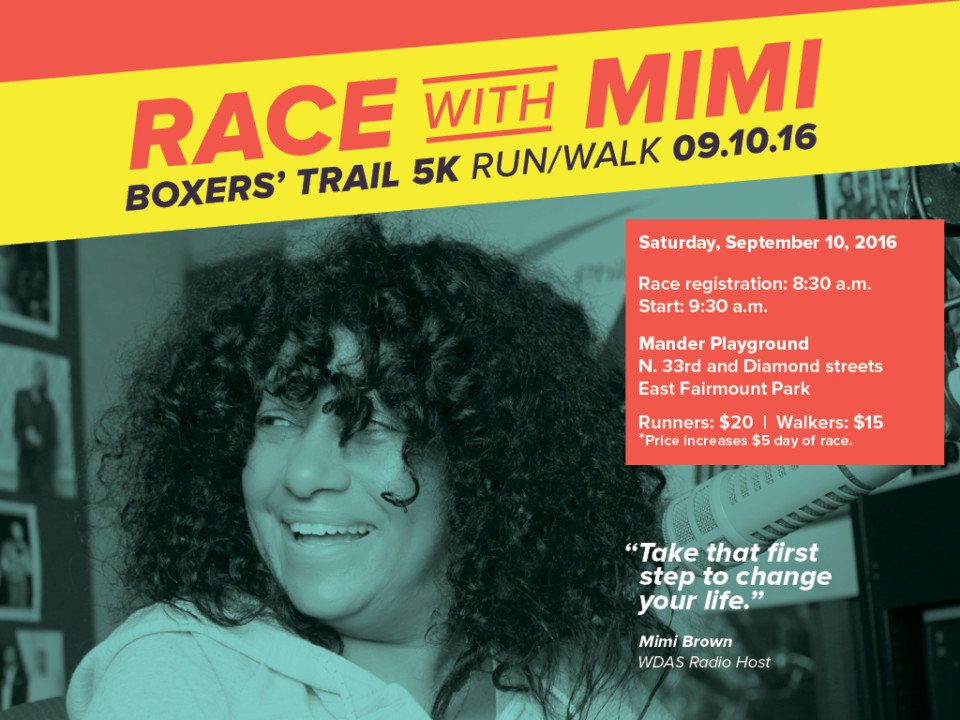 Race with Mimi Blog Post Graphic