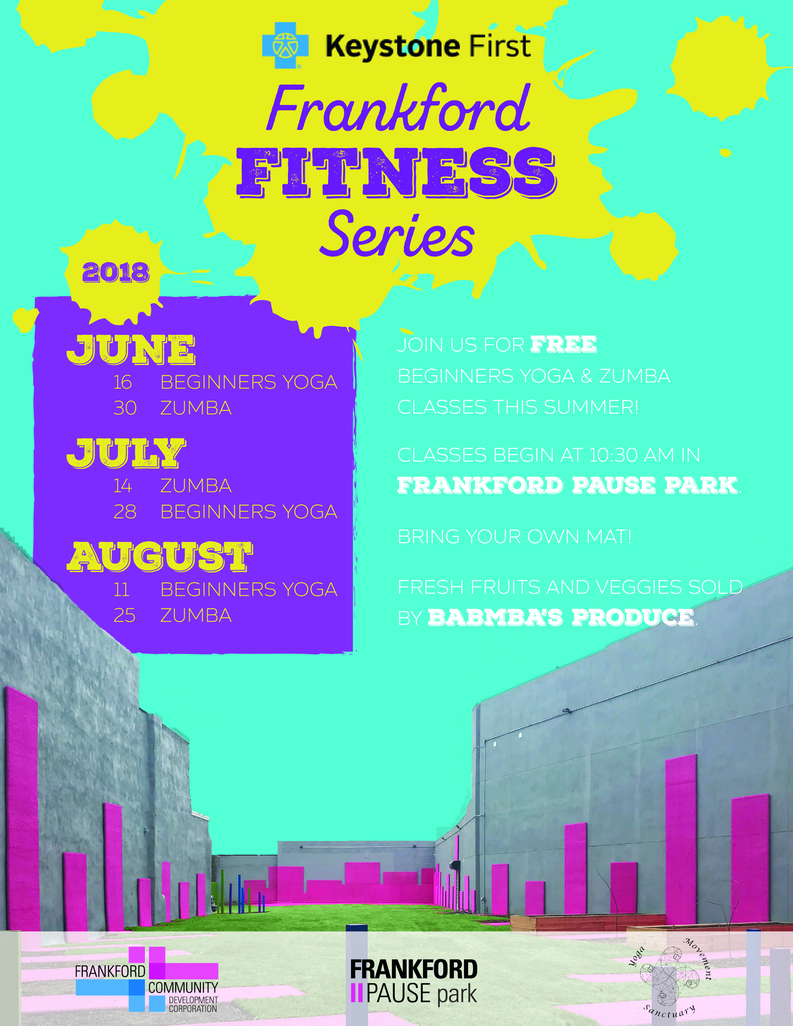 Beginner's Yoga-Frankford CDC Fitness Series - Philly Powered