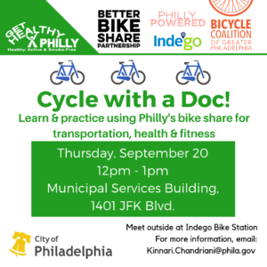 Cycle with a Doc @ Municipal Services Building | Philadelphia | Pennsylvania | United States