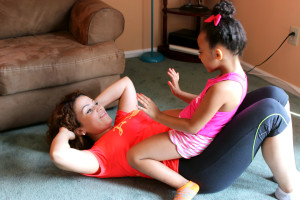 Busy mom workout